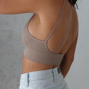 llellie Intimates & Sleepwear - 3 Low Back Bralette Crop Top Set